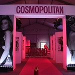 COSMO FASHION NIGHT alfombra entrada