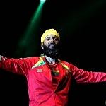 Fidel Nadal en el festival Argentino de Vos a Voz 2017 en carpa astros