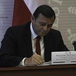 Néstor Popolizio, Viciministro de Relaciones Exteriores de Perú nueve