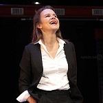 Actriz Nailea Norvid en la puesta en escena instinto (6)