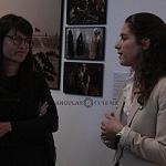 Alejandra Haas, titular del Consejo Nacional para Prevenir la Discriminación y Babette Warendorf Curadora (1)