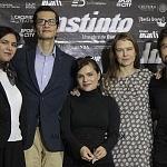Harif Ovalle, Tizoc Arroyo, Francesca Guillén, Nailea Norvind puesta en escena instinto 1