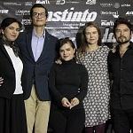Harif Ovalle, Tizoc Arroyo, Francesca Guillén, Nailea Norvind puesta en escena instinto
