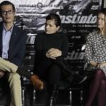 Tizoc Arroyo, Francesca Guillén, Nailea Norvind puesta en escena instinto