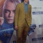 El actor Dane DeHaan en la premier de la película VALERIAN y la ciudad de los mil planetas, en la ciudad de México 1