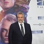 El director Luc Besson en la premier de su última película VALERIAN en la ciudad de México