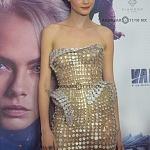 La actriz Cara Delevingne en la premier de la película VALERIAN y la ciudad de los mil planetas, en la ciudad de México 3