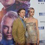 Los actores Cara Delevingne y Dane DeHaan en la premier de la película VALERIAN y la ciudad de los mil planetas, en la ciudad de México (1)