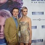 Los actores Cara Delevingne y Dane DeHaan en la premier de la película VALERIAN y la ciudad de los mil planetas, en la ciudad de México (5)