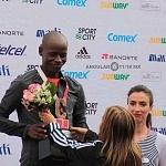 Premiación de la XXXV edición del Maratón Internacional de la Cuidad de México