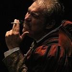 el actor Joaquín Cosío en la Puesta en escena, La desobediencia de Marte 5