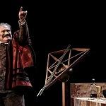 el actor Joaquín Cosío en la Puesta en escena, La desobediencia de Marte 7