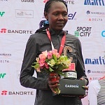 ganadoras rama femenil del XXXV edición del Maratón de la ciudad de México aspectos