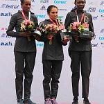 ganadoras rama femenil del XXXV edición del Maratón de la ciudad de México aspectos (2)