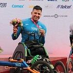 ganadores rama silla de ruedas del XXXV edición del Maratón de la ciudad de México aspectos