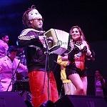 la banda regiomontana el Gran Silencio festejo su 25 aniversario en la Sala de Armas de la Ciudad de México