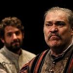 los actores José María de Tavira y Joaquín Cosío en la puesta en ecena La desobediencia de Marte 2