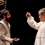 los actores José María de Tavira y Joaquín Cosío en la puesta en ecena La desobediencia de Marte p1