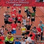 meta de la XXXV edición del Maratón de la ciudad de México