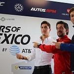 pilotos mexicanos Alfonso Celis Jr, Roberto Gonzalez y Diego Menchaca