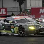 ASTON MARTIN RACING Aston Martin Vantage categoria LMGTE AM auto numero 95