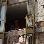 Derrumbe del edificio Saratoga 715 colonia portales edificio de 5 pisos