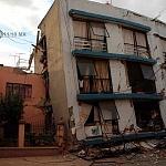 Derrumbe del edificio Saratoga 715 colonia portales edificio de 5 pisos con 16 viviendas a consecuencia del sismo del 16 de Septiembre de 2017 ( 1)