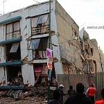 Derrumbe del edificio Saratoga 715 colonia portales edificio de 5 pisos con 16 viviendas a consecuencia del sismo del 16 de Septiembre de 2017