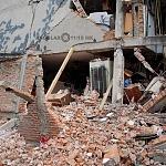 Derrumbe del edificio Saratoga 715 colonia portales edificio de 5 pisos con 16 viviendas a consecuencia del sismo del 16 de Septiembre de 2017 ( toma lateral 3)