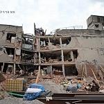 Derrumbe del edificio Saratoga 715 colonia portales edificio de 5 pisos con 16 viviendas convirtiéndose en escombros los dos primeros pisos a minutos del sismo México 19 de septiembre
