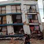 Derrumbe del edificio Saratoga 715 colonia portales edificio de 5 pisos con 16 viviendas por el sismo del 16 de Septiembre de 2017