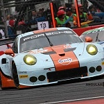 GULF RACING PORSCHE 911 RSR AUTO NUMERO 86