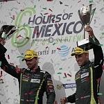 Los pilotos Thiim y Marco Sorensen, del Aston Martin Racing, ganaron las 6 horas de México 2017 en la categoria LMGTE PRO