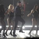 Ricky Martin el cantante puertorriqueño en el Liverpool Fashion Fest 2017 lugar Frontón México