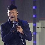 Ricky Martin el cantante puertorriqueño en el Liverpool Fashion Fest 2017 lugar Frontón México (p)