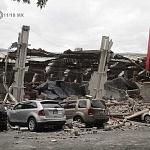 Tienda de autoservicio Soriana de Avenida Taxqueña derrumbada por el sismo del 19 de septiembre 2017 en la ciudad de México (1)