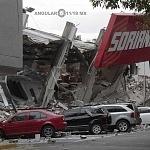 Tienda de autoservicio Soriana de Avenida Taxqueña derrumbada por el sismo del 19 de septiembre 2017 en la ciudad de México