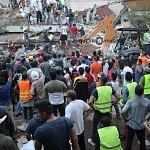 Edificio derrumbado en av zapata y división del norte a consecuencia del sismo del 19 de septiembre en la ciudad de México 2017 (4)