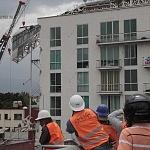 edificios derrumbados a causa del sismo del 19 de septiembre 2017 en la ciudad de México