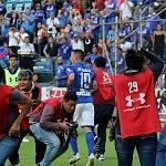 festejo del gol del Chaco Gimenez frente al Santos en la jornada 9 del torneo apertura 2017 (5)