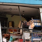 interior de departamentos derrumbados a consecuencia del sismo del 19 de septiembre 2017