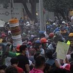 voluntarios durante el sismo del 19 de septiembre de 2017 en la ciudad de México