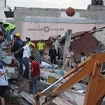 voluntarios durante el sismo del 19 de septiembre de 2017 en la ciudad de México (8)