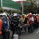 voluntarios en la ciudad de México a consecuencia del sismo del 19 de septiembre 2017