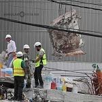 voluntarios sacando escombro en la ciudad de México a consecuencia del sismo del 19 de septiembre 2017