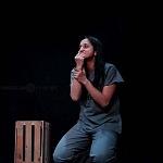 Abril Mayett en la puesta en escena La verdura carnívora Teatro Coyoacán CDMX (11)