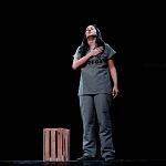 Abril Mayett en la puesta en escena La verdura carnívora Teatro Coyoacán CDMX (4)