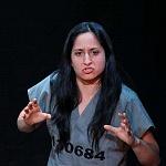 Abril Mayett en la puesta en escena La verdura carnívora Teatro Coyoacán CDMX (5)