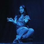 Abril Mayett en la puesta en escena La verdura carnívora Teatro Coyoacán CDMX (9)