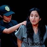 Abril Mayett en la puesta en escena La verdura carnívora Teatro Coyoacán CDMX (p)